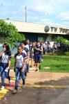 Alunos do Carmela Dutra realizam visita ao Centro Universitário Aparício...
