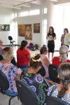Acadêmicos de Veterinária realizam palestra na casa de cultura Ivan Marrocos