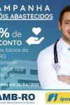 Associação Médica Brasileira – RO adere a campanha Heróis abastecidos