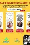 SEMANA DO SERVIÇO SOCIAL DA FIMCA TERÁ PALESTRAS ONLINE