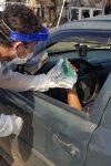 Acadêmicos da FIMCA distribuem Kits de proteção em testagem rápida...
