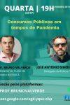 Concursos Públicos em tempos de Pandemia