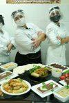 Curso de Gastronomia da Fimca recebe a chef Marie França para aula de comida...