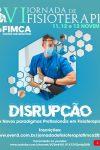 Começa hoje a VI Jornada de Fisioterapia  da FIMCA