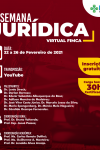 Vem ai a II Semana Jurídica Virtual do curso de Direito da FIMCA
