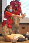 Cruz Vermelha Brasileira realiza treinamento no Centro Universitário FIMCA